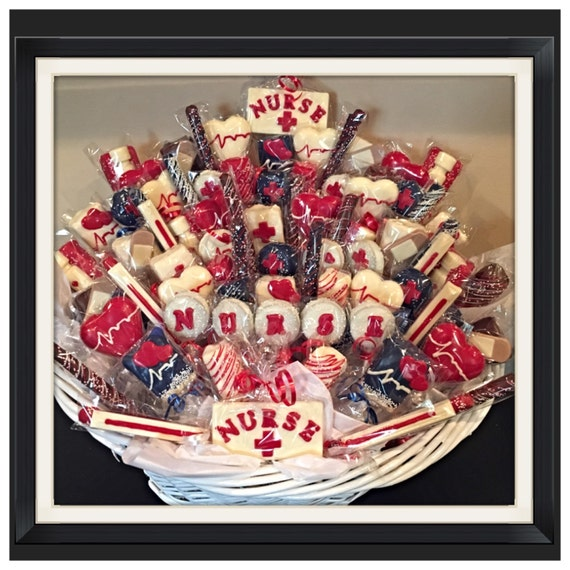 Nurse themed chocolate basket commack pickup only like this item negle Images