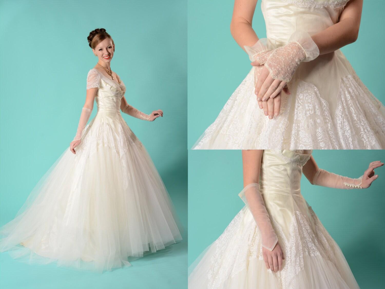 Gloves 50s Wedding Dress At – Fashion design images