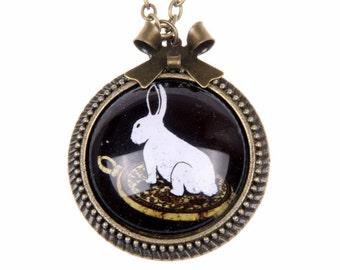 Rabbit Necklace   2525C