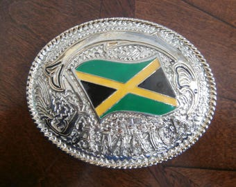 Jamaica Belt Buckle
