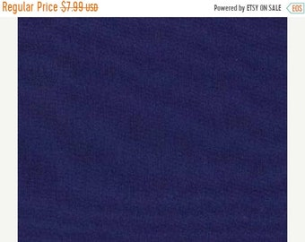 20% off thru Apr 24th By the yard--Moda Bella ROYAL BLUE Solid cotton quilt fabric- 9900-19