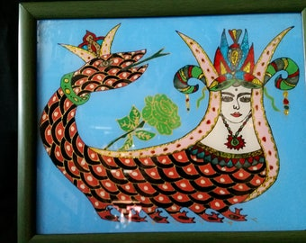 Sahmaran - Queen of the Snakes - good luck - 2 to choose from