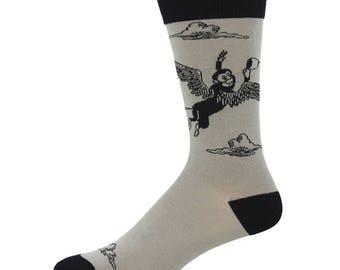 Wizard of Oz Flying Monkey Mens Socks