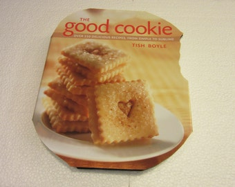 Altered Book-The Good Cookie Cook Book for Kitchen Decor