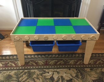 Kids Building Block Activity Table
