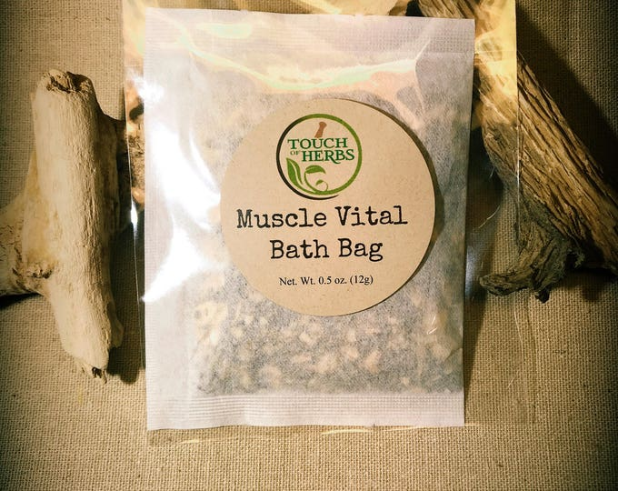 vitalizing bath soak. for tired muscles. stimulating blood flow. herbal bath soak. gifts for him and her. vitalizing gifts. stimulating