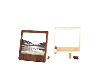 2-pack wooden frame magnetic with pins