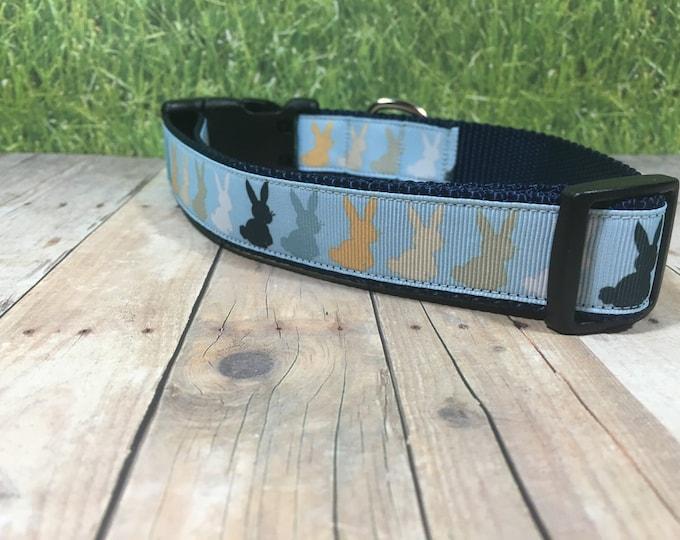 """The Peter - Designer 1"""" Width Dog Collar - CupcakePups Dog Collars - Easter collar"""