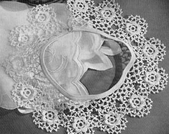1944 Irish Lace Collar Instant Download Vintage Crochet Pattern PDF 118