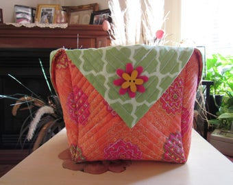 Handmade Quilted Basket #920172