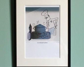 Signed Print - Car Charged Cuisine