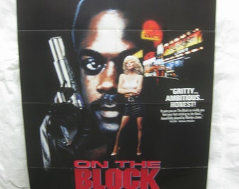 On The Block 1991 Movie Poster mp090