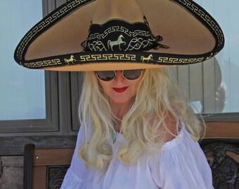 Cowgirl Cowboy Vaquero Buckaroo Western Horse Hat