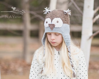 Blue Owl Hat, Owl Baby Shower, Owl Hat, Blue Crochet Hat, Knit Owl Hat, Baby Boy Hat, Winter Baby Hat, Coming Home Outfit, Baby Boy Clothes
