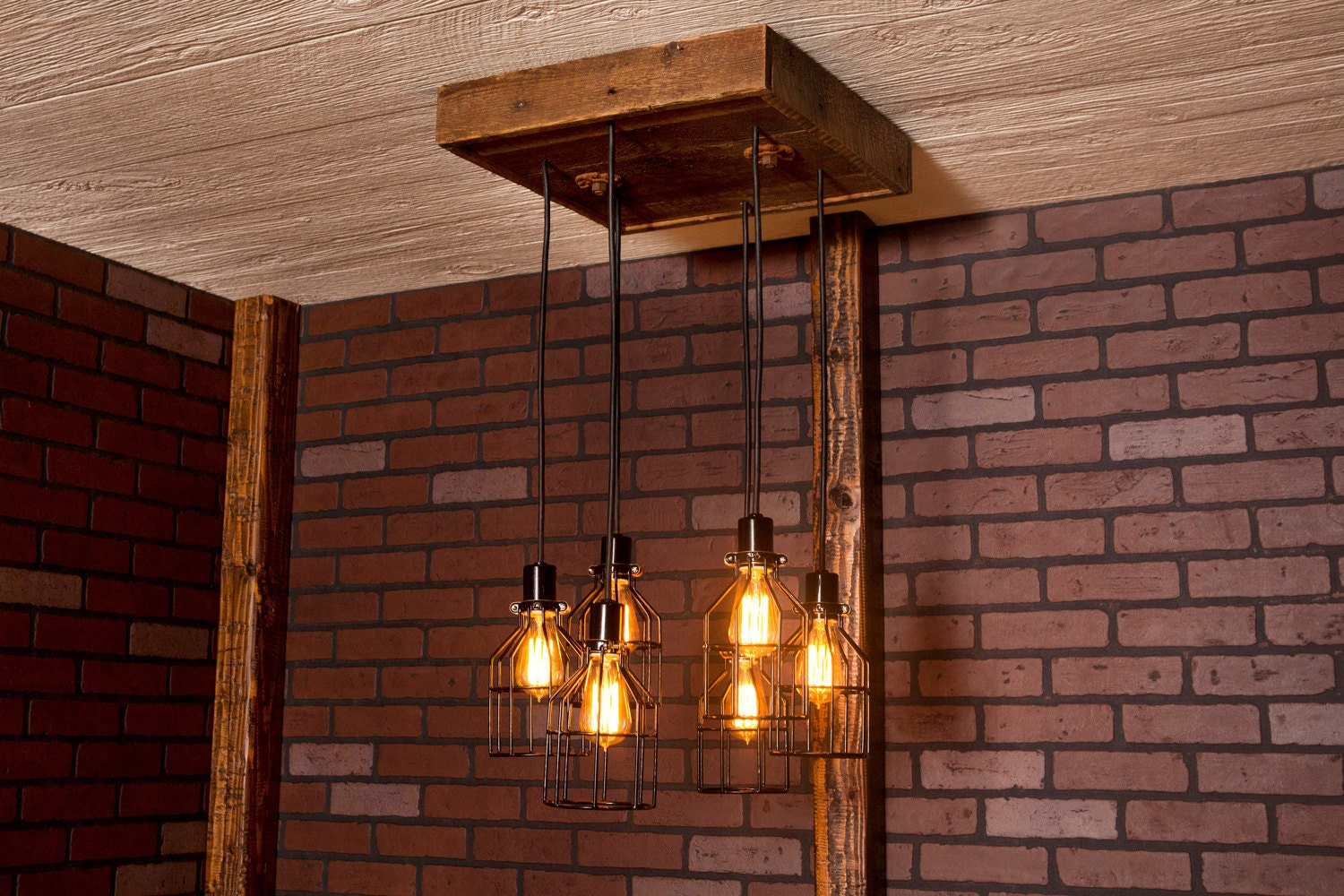 Industrial lighting industrial chandelier black with zoom aloadofball Image collections