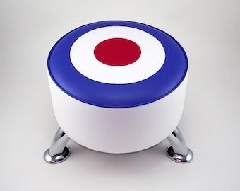 British Target footstool