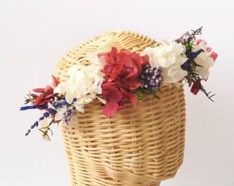 Flower crown. Floral crown wedding. Floral crown adult. Floral crown flower girl. Flower crown headband. Flower crown bride