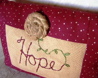 Pillow - Decorative - Hope