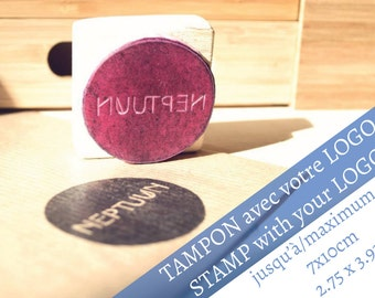 """Personalized Etsy Logo Rubber Stamp, max 2.75 x 3.93"""", Thank You Business Stamp, Custom Business Stamp, business cards custom, custom stamps"""