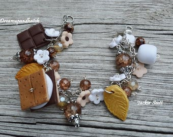 S'mores Bracelet, Free Shipping