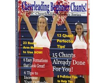 Cheerleading Beginning CHANTS Ebook, Volume 1 - CIC Cheerleading Mastery Series