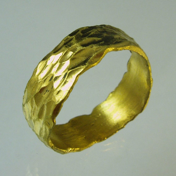 Pure gold 24 Karat solid gold ring100 pure recycled gold