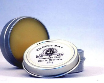 Mustache Wax with Resin - The Gilded Beard
