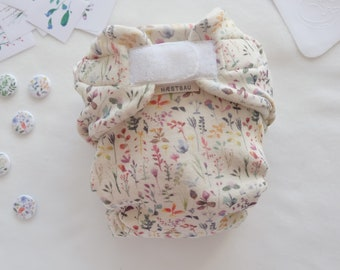 Wool diaper cover made of fine merino wool