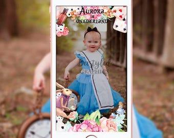 Alice in wonderland geofilter