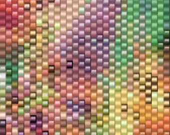 Peyote Pattern - Abstraction 95