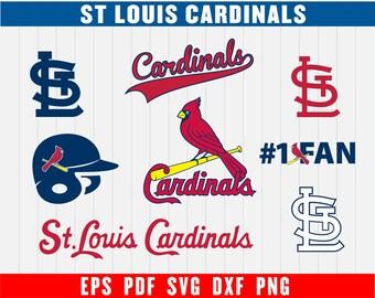 St. Louis Baseball SVG, St. Louis Cardinals, Cardinals SVG, Baseball Clipart, Cardinals