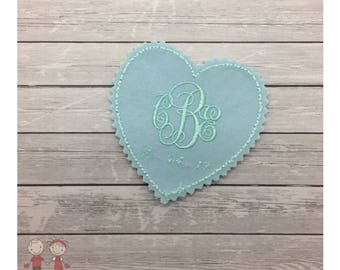 Wedding Dress Patch, Dress label Patch, Bride Gift, Tie Patch, Groom inside  of Coat, Mom dress label, Embroidered gift