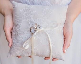 Chantilly Lace Ring Bearer Pillow
