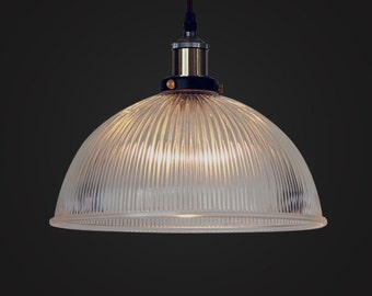 French Style Glass Ceiling Lamp - ceiling - pendant lamp - E27 - edison bulb - industrial style - hanging lamp - Edison bulb lamp