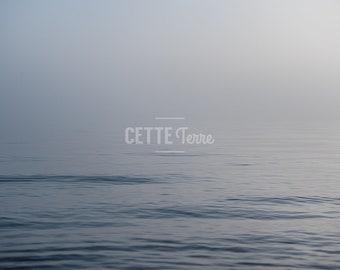 Beach Photography | Peaceful Blue Water| Morning at the Shore | Nature | Lake Michigan
