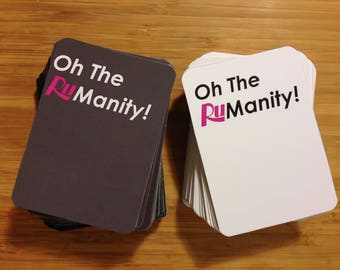 Oh The Rumanity! Game - Rupaul's Drag Race (Printable Download)