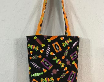 Halloween Trick or Treat Bag / Candy Bag / Candy Spider Web