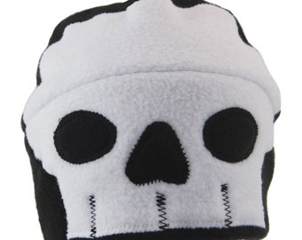 Skull Fleece Hat