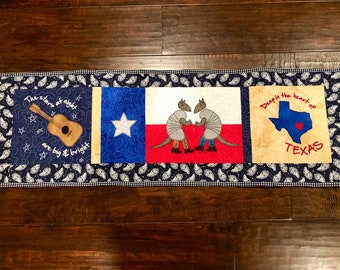 Texas table runner