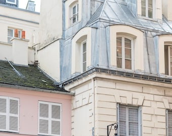 Paris Photography - Pink Passage, Paris Architecture, Urban Decor, French Home Decor, Large Wall Art
