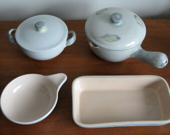 Denby Stone Ware: 'Peasant Ware' serving dishes