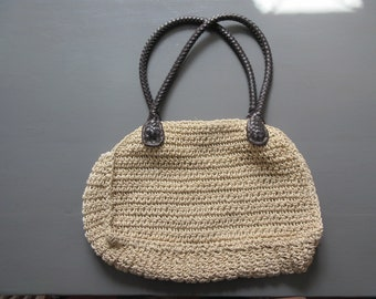 bag vintage string braid. Travel Collections.vintage.souvenir
