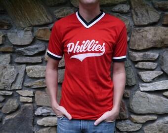Vintage Phillies Baseball T Shirt