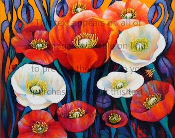 Iceland Poppies #3_Print_Giclee