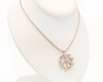 Collier Boheme-Crystal Necklace-Peace Necklace-Hippie Necklace-Boho Necklace-Boho Jewelry-Bohemian Necklace-Statement Necklace