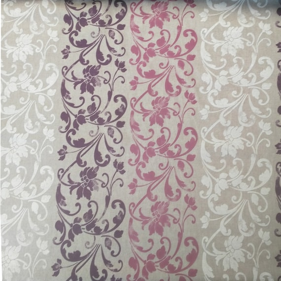 "coupon ""arabesque"" design fabric"