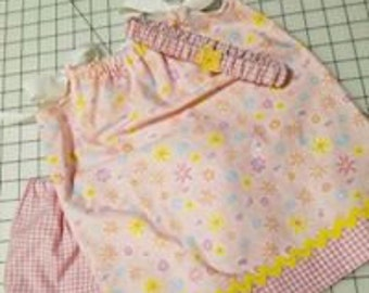 Pillow Case Dress will Bloomers