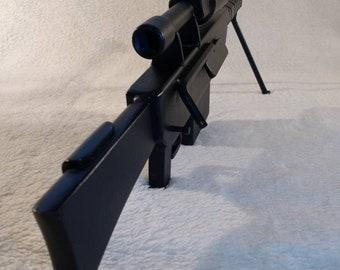 50 cal sniper rifle model/sculpture