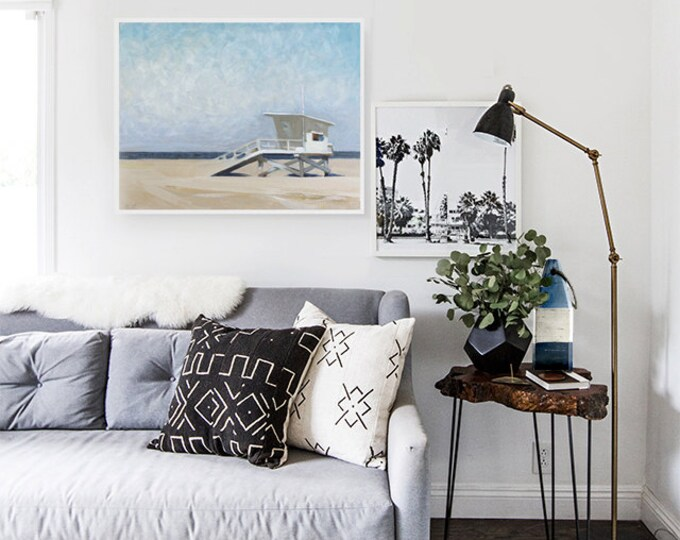 Beach Decor Set Oil Painting an buoy by B. Kravchenko for SEASTYLE  Wall Art Modern Contemporary Home & Living Collectibles