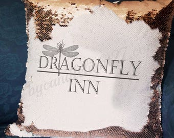 Dragonfly Inn - Stars Hollow - Gilmore Girls - Gilmore Girls Decor - Hand Crafted - Mermaid Cushion
